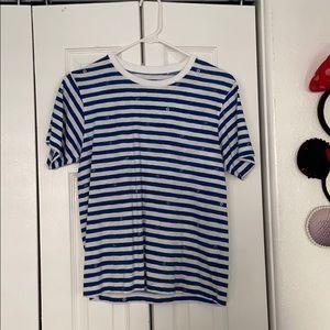 Uniqlo women's striped Disney tee